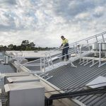 Defender™ HVAC access systems create a safe working environment for contractors and protects your roof.